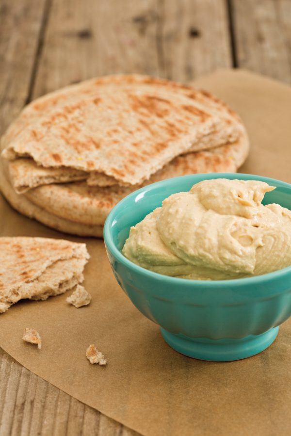 Houmous with Pitta Chips