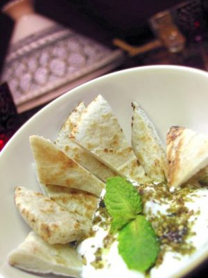 Greek Yogurt and Za'atar Dip