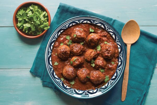 Moroccan Spiced Meatballs