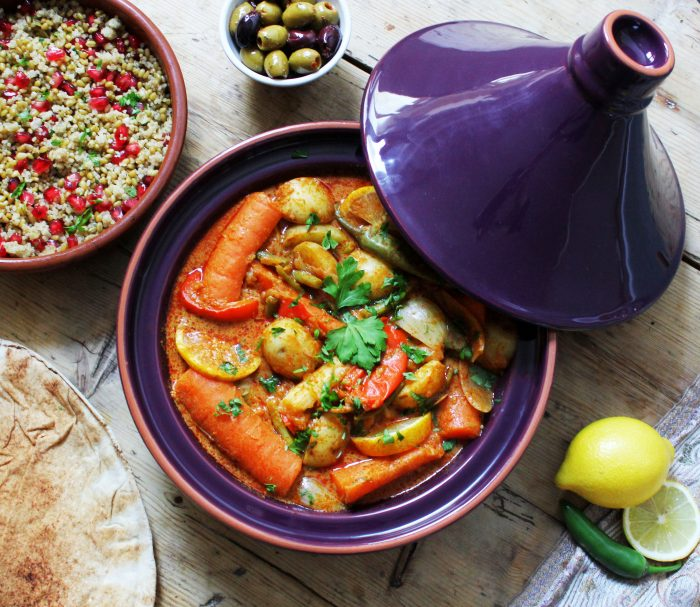 Spiced Apricot and Lemon Tagine