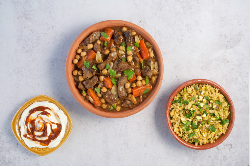 Beef & Chickpea Tagine
